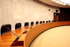 Sala del consiglio Fotografia Stock