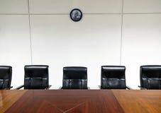 Sala del consiglio dell'ufficio Immagine Stock