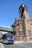 Sala del consiglio e bus di Coventry Fotografia Stock Libera da Diritti