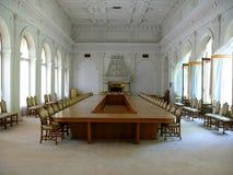 Sala del consiglio spaziosa Fotografia Stock