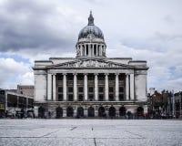 Sala del consiglio, vecchio quadrato del mercato, Nottingham fotografie stock libere da diritti