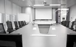 Sala del consiglio vuota Fotografia Stock