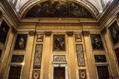 Sala del Minor Consiglio, Genoa Fotografia de Stock
