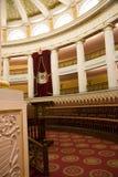 sala delegatów/przewodniczący jest pałac Zdjęcia Stock