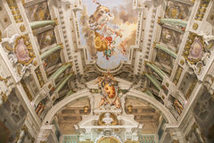 Sala dell'Udienza Privata Arkivbilder
