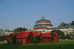 Sala della gente di Chongqing Immagini Stock Libere da Diritti