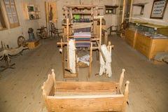 A sala dentro de Viscri fortificou a igreja fotografia de stock royalty free