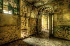 Sala deteriorada Fotografia de Stock