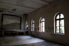 Sala deteriorada Foto de Stock