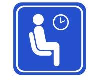 Sala di attesa illustrazione di stock
