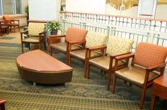 Sala di attesa dell'ospedale Fotografia Stock Libera da Diritti