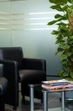 Sala di attesa moderna Fotografie Stock Libere da Diritti