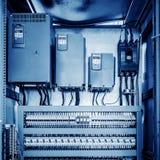 Sala di controllo del macchinario Fotografia Stock