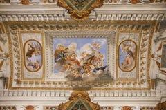 Sala di Giovanni da San Giovanni Photographie stock