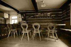 Sala dinning velha Fotos de Stock Royalty Free