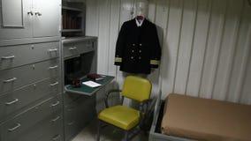 Sala do capelão do comando video estoque