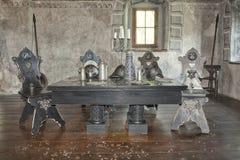 Sala do castelo Fotografia de Stock Royalty Free