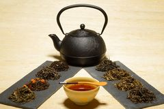 Sala do chá Foto de Stock