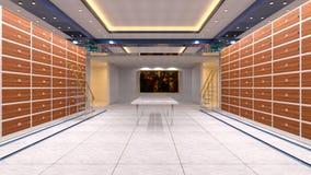 Sala do cofre-forte imagens de stock royalty free