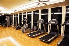 Sala do Gym Imagem de Stock Royalty Free