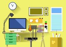 Sala do local de trabalho Foto de Stock