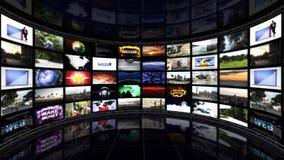 Sala do negócio, cartas e gráficos, fundo do gráfico de computador Fotos de Stock