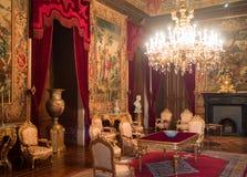 Sala do palácio de Ajuda Fotografia de Stock Royalty Free