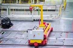 Sala do reator abasteça a máquina de carga, a manutenção de equipamento e a substituição dos elemento combustíveis do reator fotografia de stock royalty free