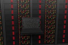 Sala do servidor Fotografia de Stock Royalty Free