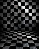 Sala do tabuleiro de xadrez Imagem de Stock