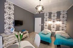 Sala elegante do hotel ou da residencial fotos de stock royalty free