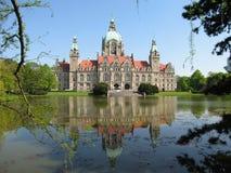 sala Hannover miasteczko Zdjęcia Royalty Free