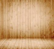 Sala interior de madeira Fotografia de Stock
