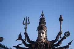 Sala Kaeo Kou Wat Khaek, near Nong Khai, Thailand royalty free stock images