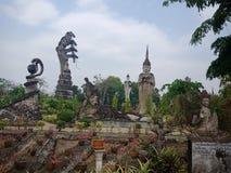 Sala Kaew公园, Faith2 Devawan公园  免版税图库摄影