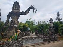 Sala Kaew公园, Faith3 Devawan公园  库存照片