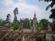Sala Kaew Park, het Devawan-Park van Faith2 Royalty-vrije Stock Fotografie