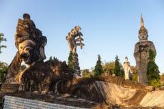 Sala Keo Kou Temple Nong Khai, Thailand, Asien royaltyfri bild