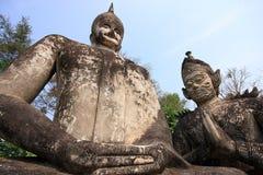 Sala Keoku, Nong Khai, Thailand Stockbilder