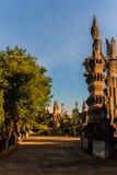 Sala Keoku, the park of giant fantastic concrete sculptures insp Stock Photography
