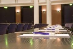 sala konferencyjna Zdjęcia Royalty Free