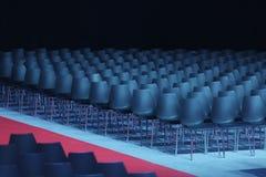 Sala konferencyjna, seminaryjny pokój, puste siedzenie w audytorium, sala lub sala lekcyjna, Fotografia Stock