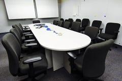 Sala konferencyjnej przygotowanie fotografia stock