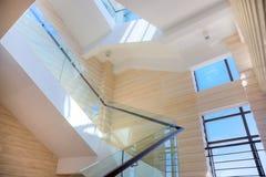 sala luksusu schody obrazy stock