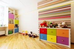 Sala moderna para a criança fotografia de stock