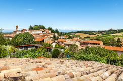 Sala-Monferrato, Piedmont, Italy. Royalty Free Stock Image