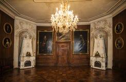 Sala no castelo de Friedenstein Fotos de Stock