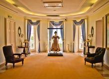Sala no palácio do Repos de segunda-feira, Corfu fotos de stock royalty free