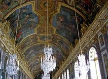 sala odzwierciedla Versailles Zdjęcia Royalty Free