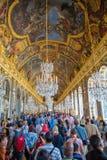 sala odzwierciedla Versailles Obrazy Stock